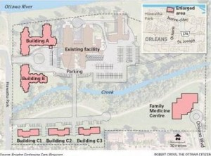 Bruyere senior village plan - addition to Residence St. Louis