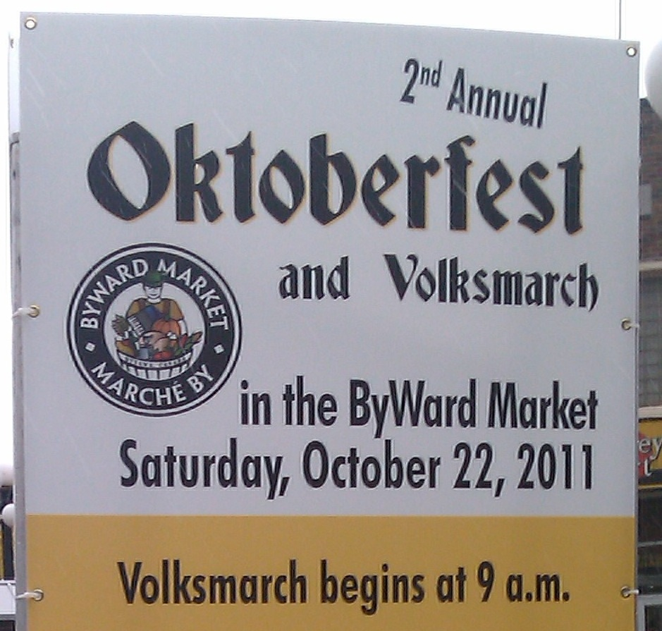Oktoberfest in The ByWard Market