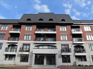 Condo living is a prie choice in Westboro