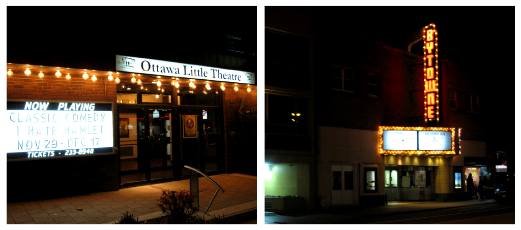 Ottawa Little Theatre and the ByTowne Cinema