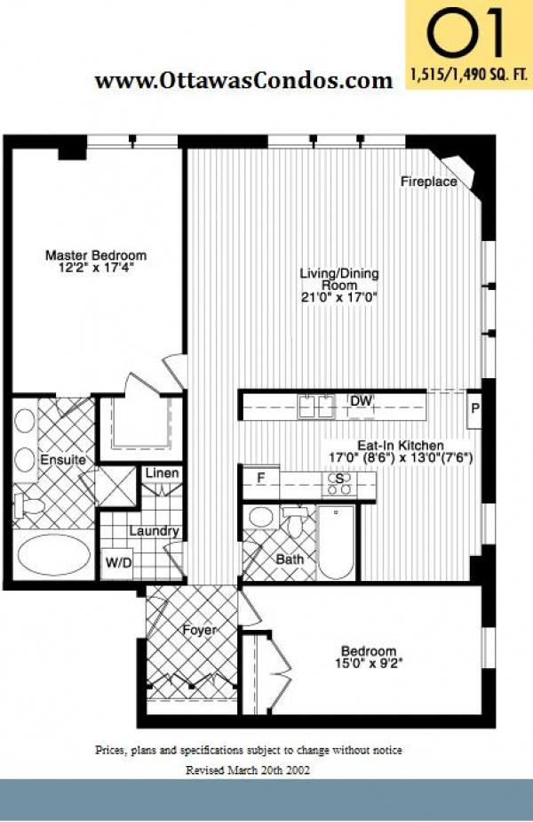 Typical Suite Floor Plan