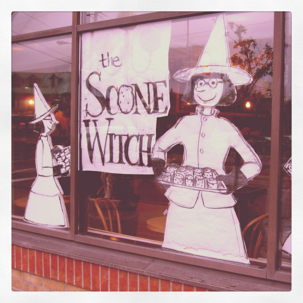 The Scone Witch at 35 Beechwood Ave.