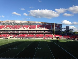 Ottawa RedBlacks at Lansdowne Park
