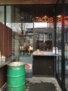 El Camino - Taco Window